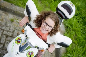 Iris Kroes E-scooter