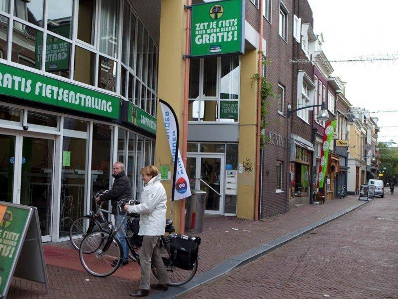 Fiets in de P St. Jacobsstraat