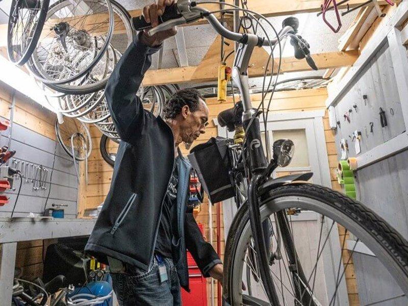 Fietsenstalling-NHL-fietsservice